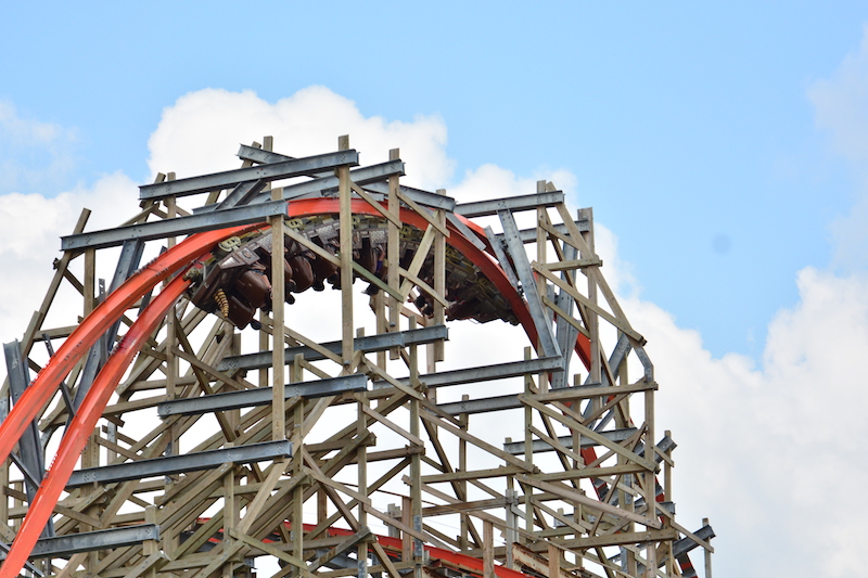 Iron Rattler @ Six Flags Fiesta Texas
