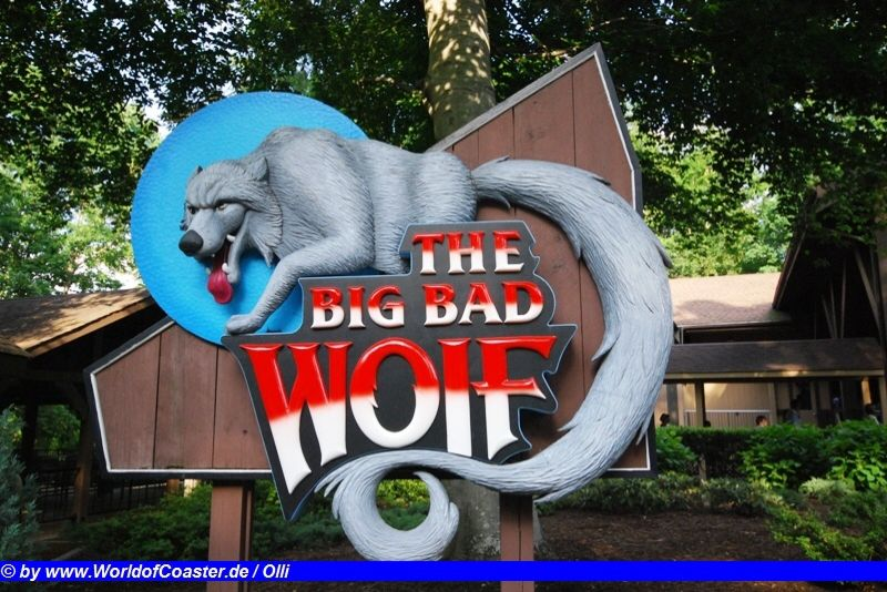 Big Bad Wolf @ Busch Gardens Williamsburg