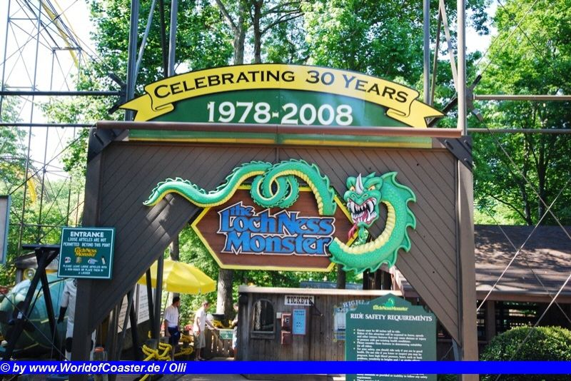 Loch Ness Monster @ Busch Gardens Williamsburg