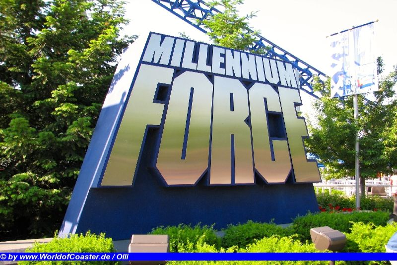Millennium Force @ Cedar Point