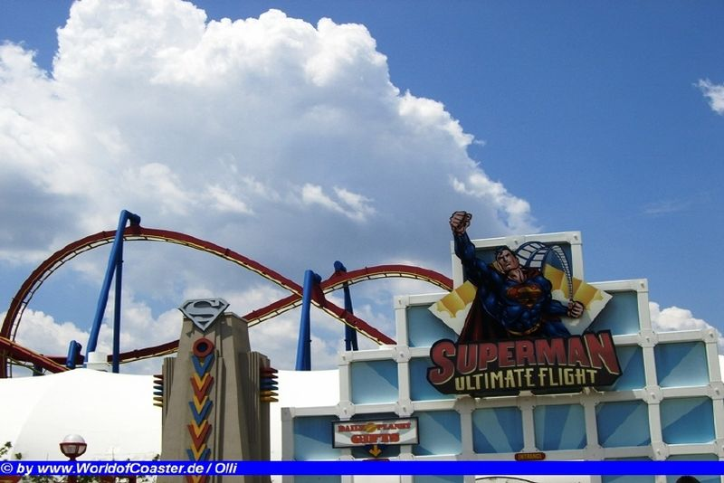 Superman Ultimate Flight @ Six Flags Great Adventure