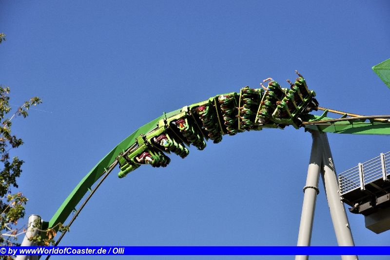 The Incredible Hulk @ Universal Islands of Adventure