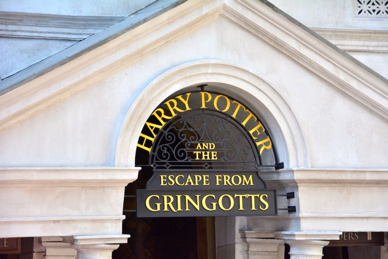 Harry Potter and the Escape from Gringotts @ Universal Studions Florida