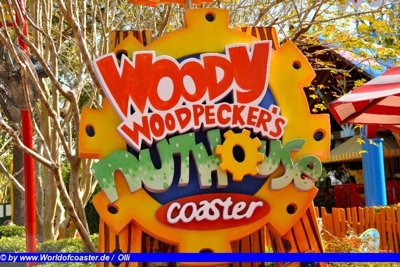 Woody Woodpecker´s Nuthouse Coaster @ Universal Studions Florida