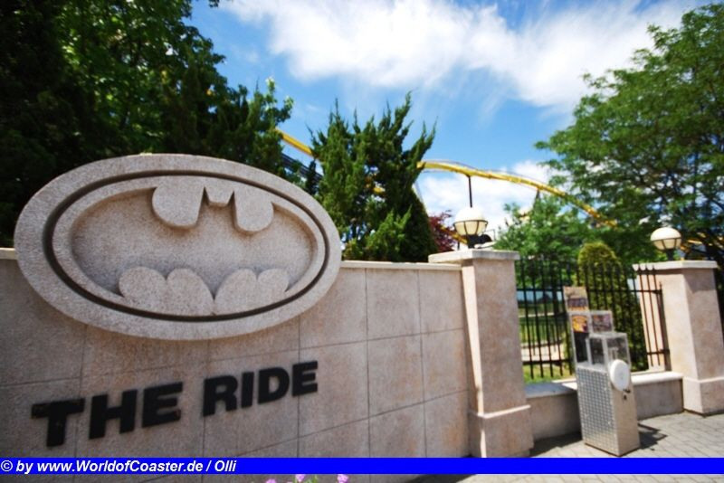 Batman the Ride @ Six Flags Great Adventure