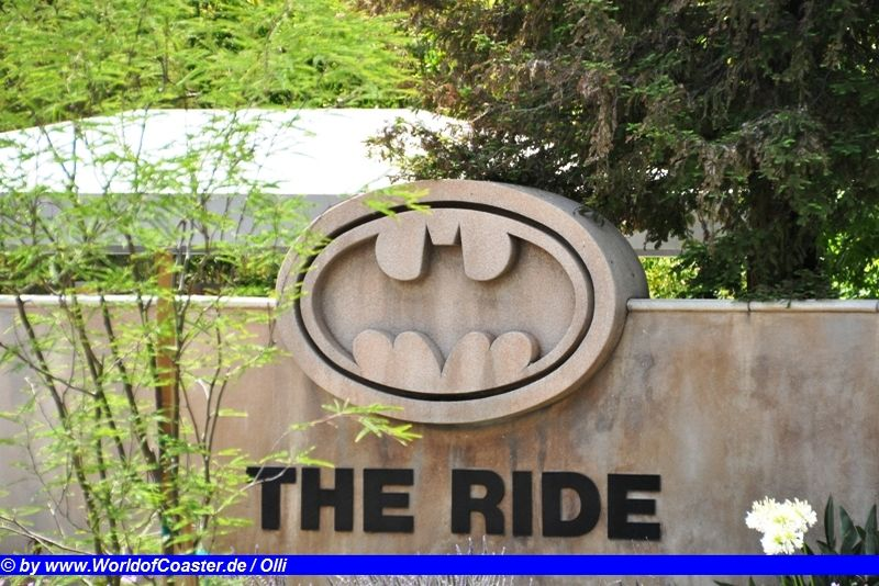 Batman the Ride @ Six Flags Magic Mountain