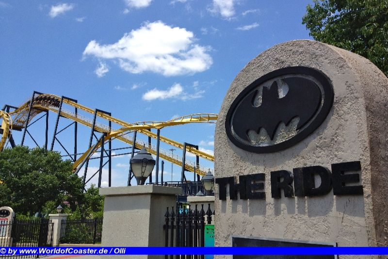 Batman the Ride @ Six Flags over Texas