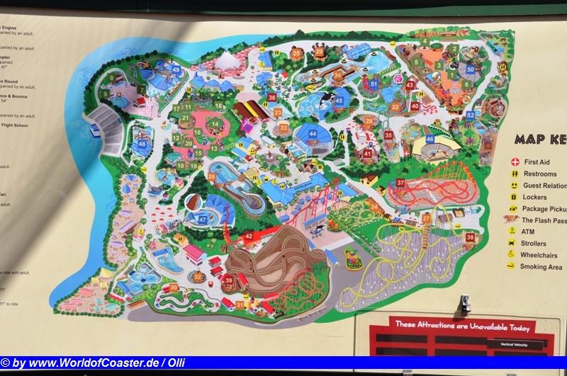 Six Flags Discovery Kingdom - World of Coaster