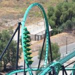 Six Flags Magic Mountain - Riddlers Revenge - 012