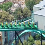 Six Flags Magic Mountain - Riddlers Revenge - 014