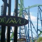 Six Flags Magic Mountain - Deja Vu - 001
