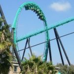 Six Flags Magic Mountain - Riddlers Revenge - 003