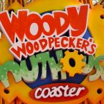 Universal Studios Florida - Woody Woodpeckers Nuthouse Coaster - 003