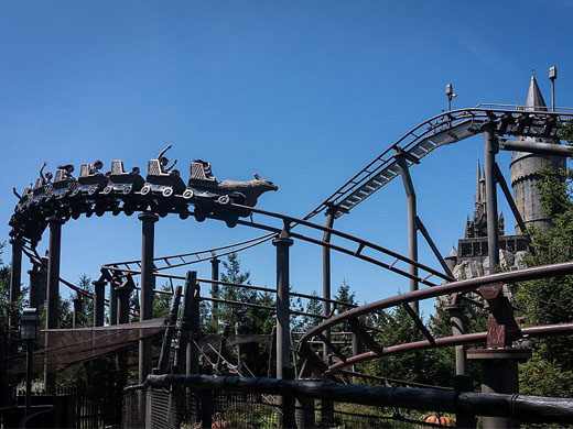 Flight of the Hippogriff @ Universal Studios Japan
